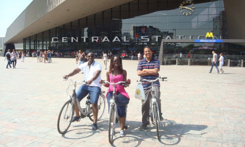 Rotterdam Central Station bike tour